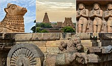 A collage of Great living Chola temples UNESCO heritage site.jpg