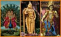 A collage of Kartikeya Skanda Murugan Subramaniyam images.jpg