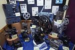 A display full of vintage film projectors and film memorabilia - 0735.jpg
