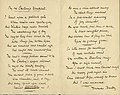 "A draft of Thomas Hardy's ""The Darkling Thrush,"" here entitled ""By the Century's Deathbed"".jpg"