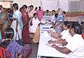 A free health camp organised at the Bharat Nirman Lok Mahiti Abhiyan, at Mohol district, Sholapur, Maharashtra on September 26, 2013.jpg
