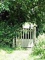 A gated footbridge - geograph.org.uk - 1355803.jpg