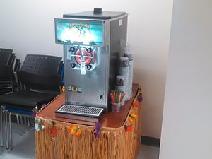 Margarita machine - A margarita machine in Wakefield, Massachusetts