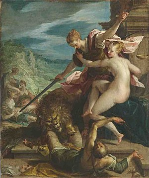Social policy - Hans von Aachen, Allegory or The Triumph of Justice (1598)