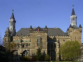 Aachen City Hall (rear)