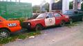 Abandoned Datsun Sunny (B310) Traffic police car in Bangkok Thailand.png