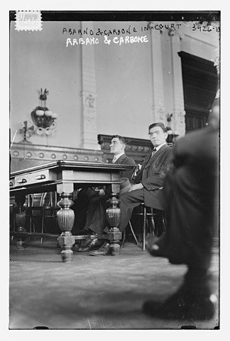 Galleanists - Abarno and Carbone in court