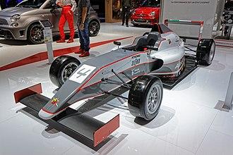 Formula 4 - Image: Abarth Tatuus F4 T014 Mondial de l'Automobile de Paris 2014 002