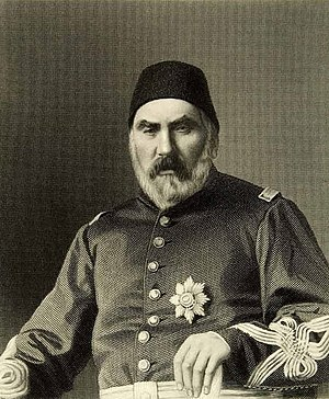 Abdülkerim Nadir Pasha - Image: Abdul Kerim pasha by G. J. Stodart