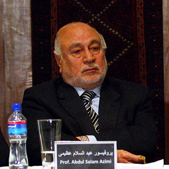Law of Afghanistan - Abdul Salam Azimi, Chief Justice of Afghanistan