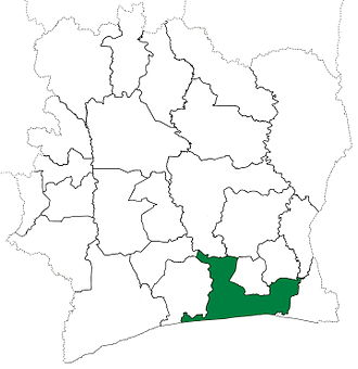 Abidjan Department - Abidjan Department upon its creation in 1969. It kept these boundaries until 1988, but other departments began to be divided in 1974.