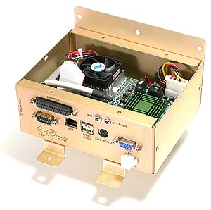 Embedded system - Image: Accupoll embedded computer