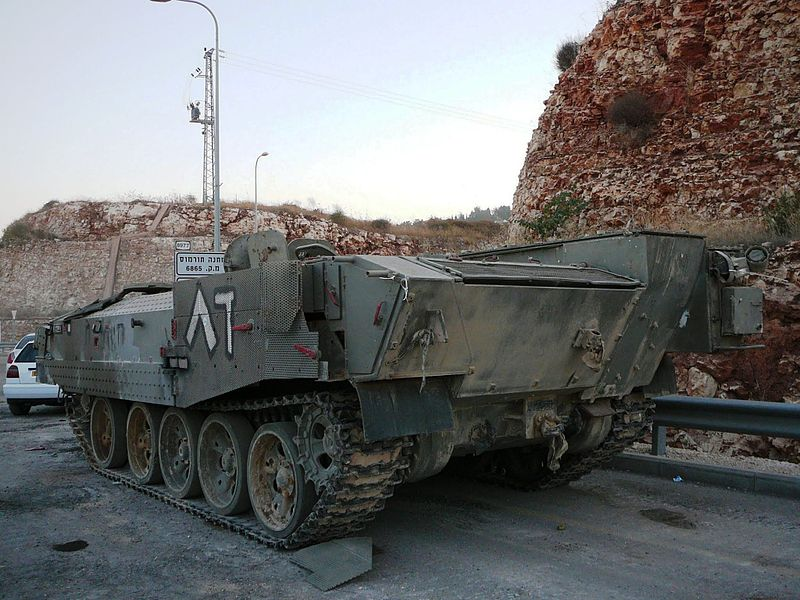 File:Achzarit armored personnel carrier, 2011.jpg