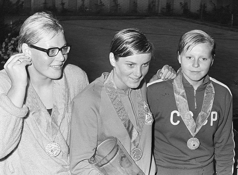 File:Ada Kok, Claude Mandonnaud, Tamara Sosnova 1966.jpg