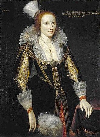 Archibald Napier, 1st Lord Napier - Margaret Graham