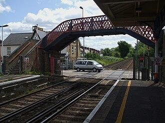 Addlestone - Addlestone Station