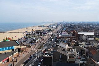 Great Yarmouth town in Norfolk, UK