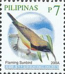 Aethopyga flagrans 2009 stamp of the Philippines.jpg