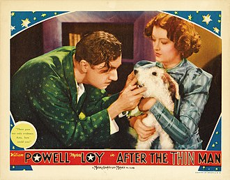 After the Thin Man - Lobby card for After the Thin Man (1936)