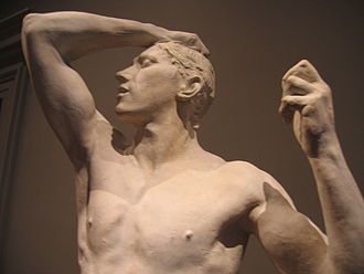 The Age of Bronze - Image: Age of bronze plaster