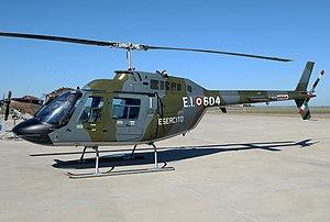 HESA Shahed 278 - An Italian Army Bell 206