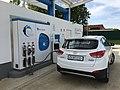 Air Liquide 700 bar Wasserstofftankstelle in Zaventem Belgien f.jpg