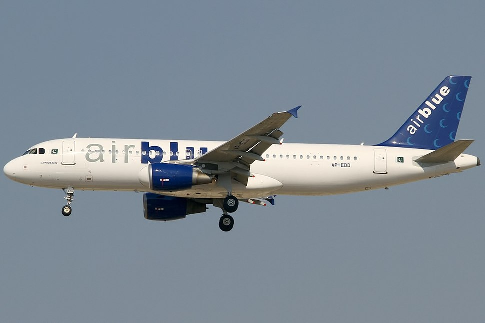 Airbus A320-214, Airblue AN2243785