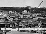 Aircraft carriers at Puget Sound Naval Shipyard in June 1957.jpg