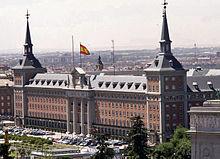 Cuartel general del ej rcito del aire wikipedia la for Ministerio de interior madrid