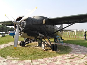 East Pakistan Air Operations, 1971 - Replica of the upgraded Otter used by Mukti Bahini in 1971 to attack Chittagong Oil Depot.
