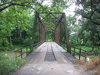 National Register of Historic Places listings in Coles County, Illinois - Image: Airtight Bridge