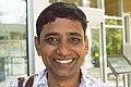 Ajay Bhardwaj at Newton Library, Surrey.jpg