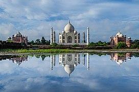 Aks The Reflection Taj Mahal.jpg