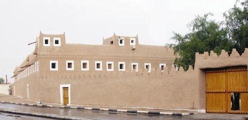 الدوله السعوديه الاولى والثانيه والثالثه 496px-Al_Bassam_Mansion