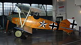 Albatros D.Va Replica, Royal Air Force Museum, Hendon. (23167866349).jpg