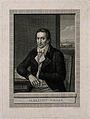 Albrecht Daniel Thaer. Line engraving by J. H. Lips after J. Wellcome V0005769.jpg