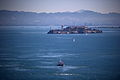 Alcatraz seen from the Golden Gate Bridge in San Francisco 146.jpg