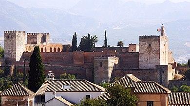 In Welke Spaanse Stad Staat Het Beroemde Alhambra.Alhambra Fort Wikipedia