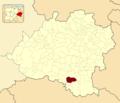Alcubilla de las Peñas in Soria Province locator.png