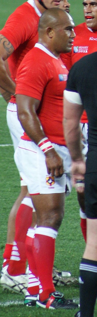 Aleki Lutui - New Zealand vs Tonga during 2011 Rugby World Cup