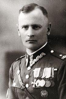 Aleksander Krzyżanowski Polish army officer and partisan leader