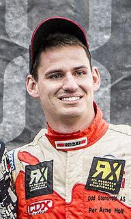 Alexander Hvaal Norwegian rally driver
