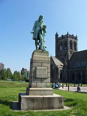 Alexander Wilson (ornithologist) - Wilson statue in Paisley