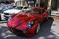 Alfa Romeo 8C 2008 Competizione AboveLSideFront CECF 9April2011 (14414309438).jpg