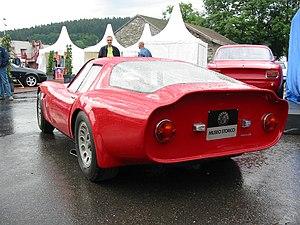 Alfa Romeo Giulia TZ - Rear view of TZ2
