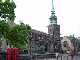 All Hallows-by-the-Tower in 2003