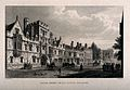All Souls College, Oxford; showing the lodge and Queen's Col Wellcome V0014061.jpg