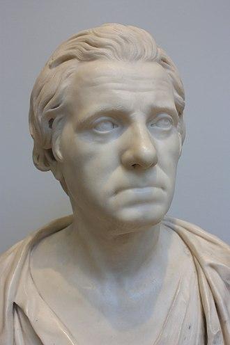 Allan Ramsay (artist) - Allan Ramsay in old age by Michael Foye 1776