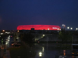 Munich - Allianz Arena after soccer game