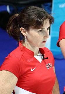 Allison Pottinger American curler